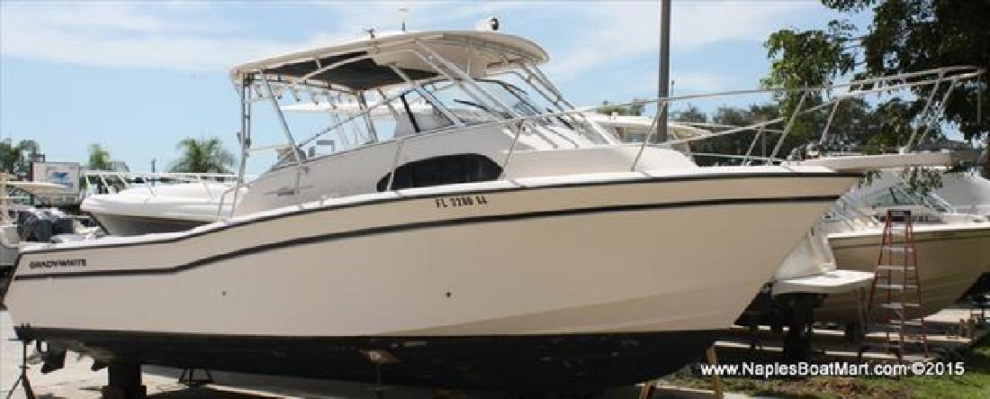 2001 Grady-White Boats Cabin Model Marlin 300 Naples FL