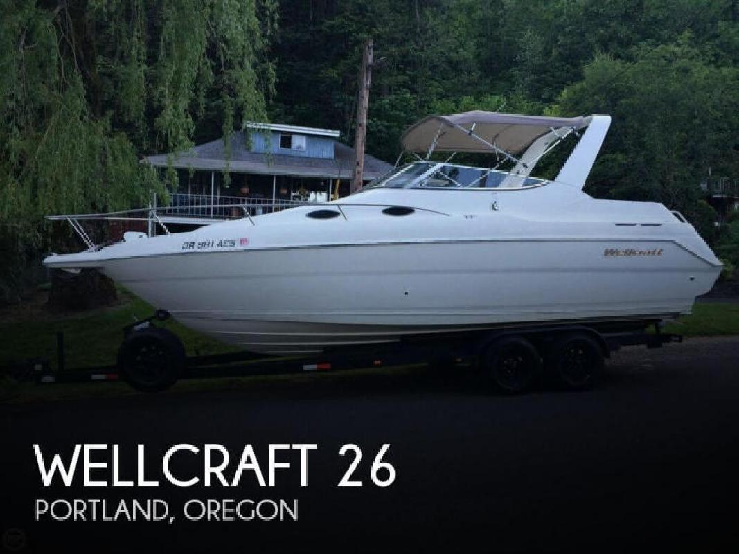 2001 Wellcraft Marine 2600 Martinique Portland OR