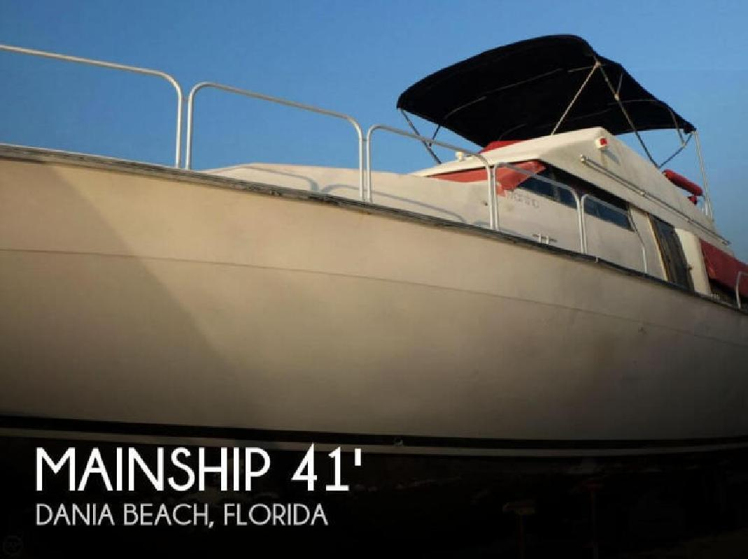 1989 Mainship 41Grand Salon Mediterranean Dania Beach FL