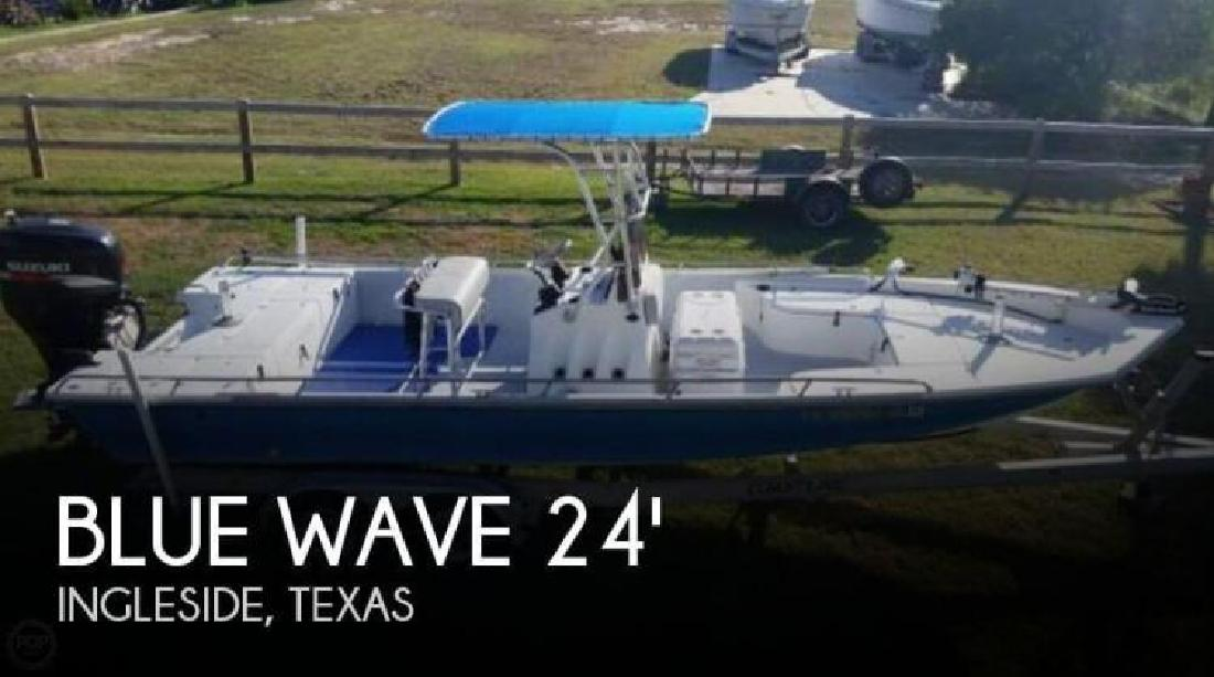 2001 Blue Wave Boats by Parks Mfg 244 Magnum Ingleside TX