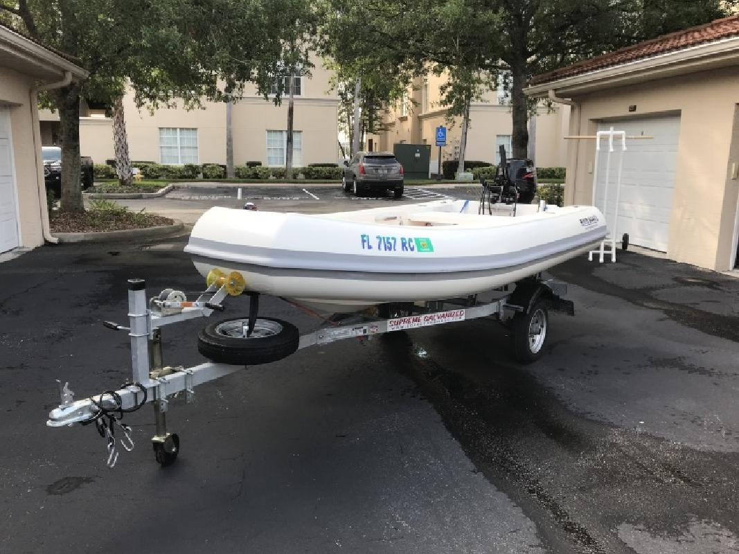 2016 Rigid Boats 12 Tiller Model in Jacksonville, FL