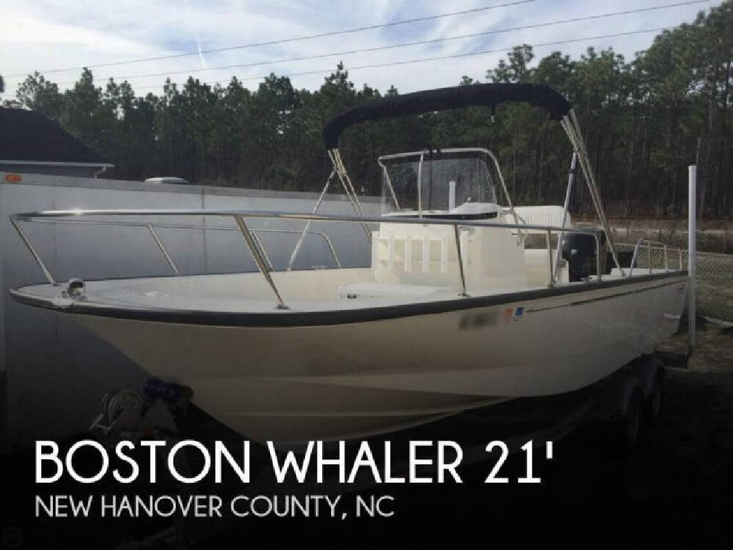 2015 Boston Whaler 210 Montauk Wilmington NC