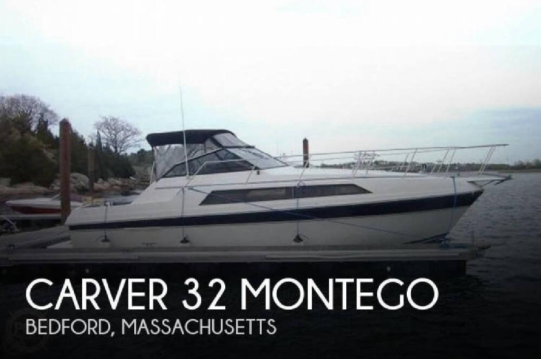 1987 Carver Yachts 32 Montego Bedford MA
