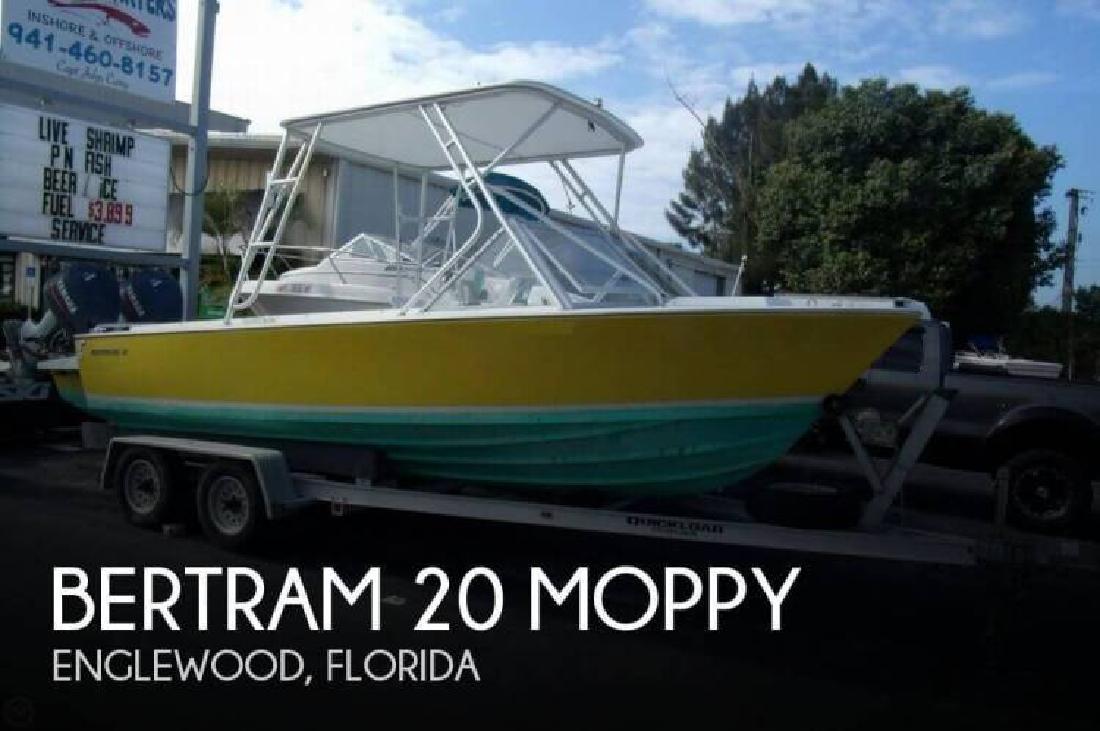 1968 Bertram Yacht 20 Moppy Englewood FL