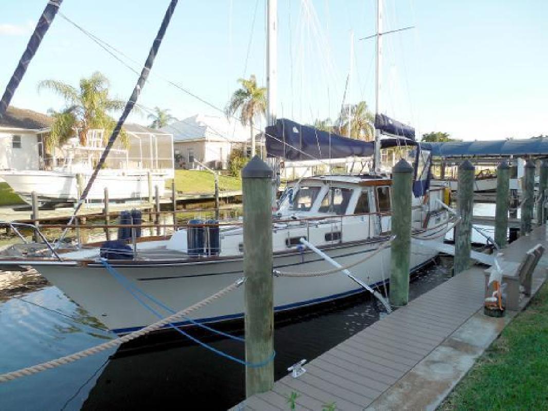 1984 Nauticat 36 Pilothouse Ketch Motor Sailer Fort Myers FL