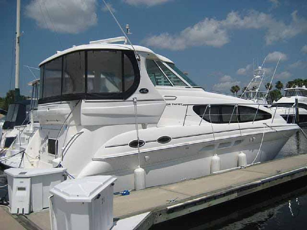 2004 39' Sea Ray 390 Motor Yacht-COCKPIT AIR/BOW THRUSTER!