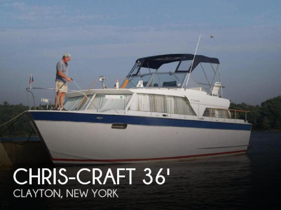 1967 Chris Craft 36 Cavalier Motor Yacht Clayton NY