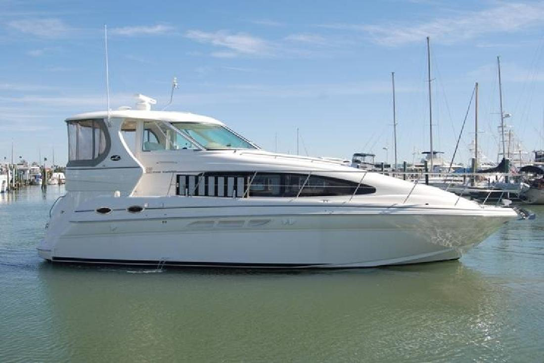 2004 39 39 Sea Ray 390 Motor Yacht Cummins Diesels For