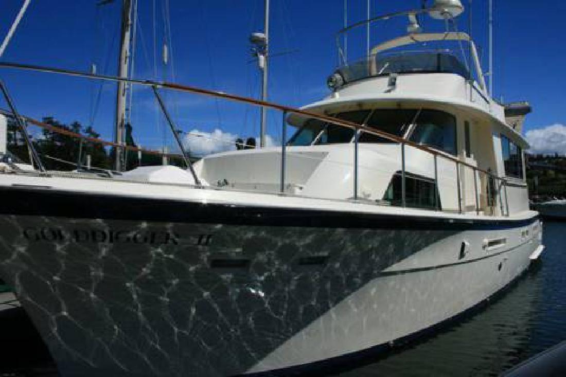 58' Hatteras Motoryacht