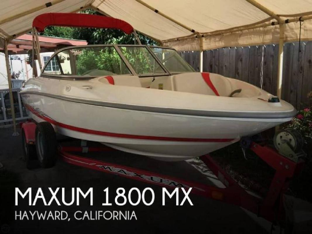 2006 Maxum 1800 MX Sausalito CA