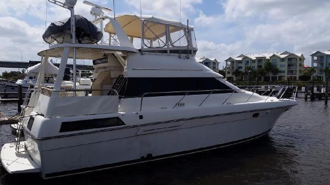 1991 Silverton Motor Yacht N Palm Beach FL