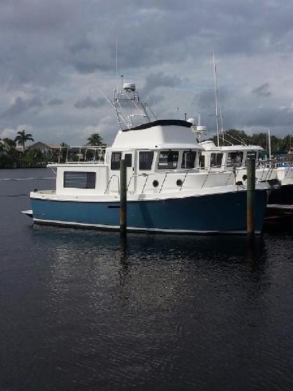 2015 American Tug Fly Bridge 365 New Boat In Stock Stuart FL