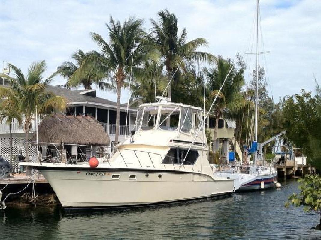 1988 Hatteras 45 Convertible New Port Richey FL
