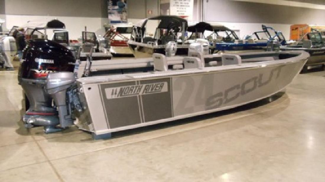 69 995 obo 2013 24ft north river scout for sale in for Yamaha outboard motors portland oregon