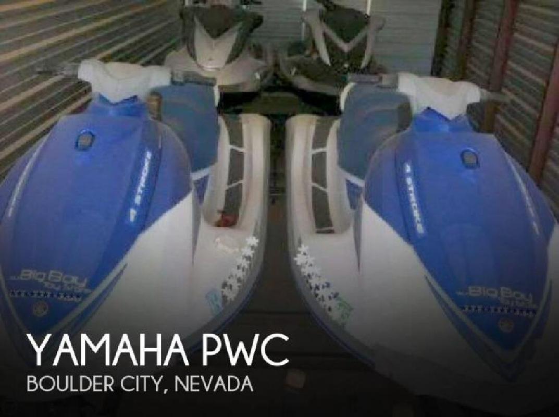 2007 Yamaha 3 2007 1 2008 package of 4 PWC Boulder City NV