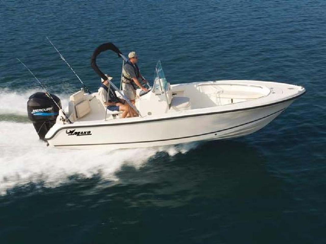2011 20' Mako Marine International Offshore 204 Center Console in Seabrook, ...