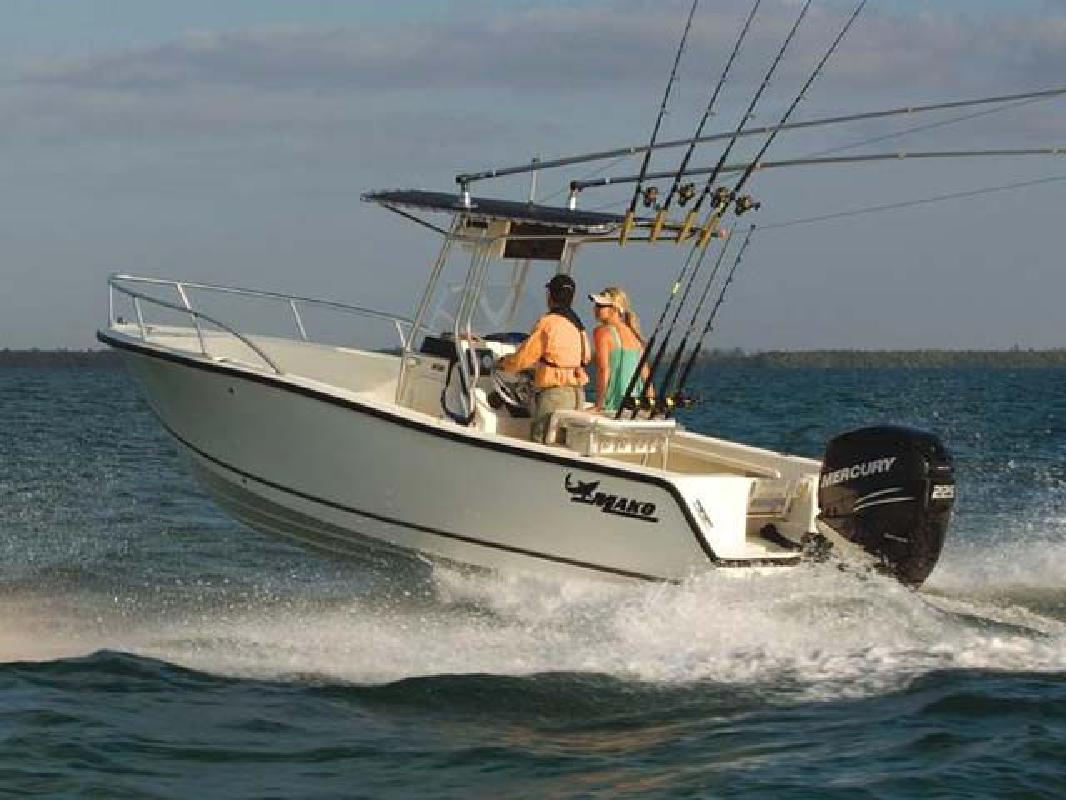 2011 21' Mako Marine International Offshore 212 Center Console in ...