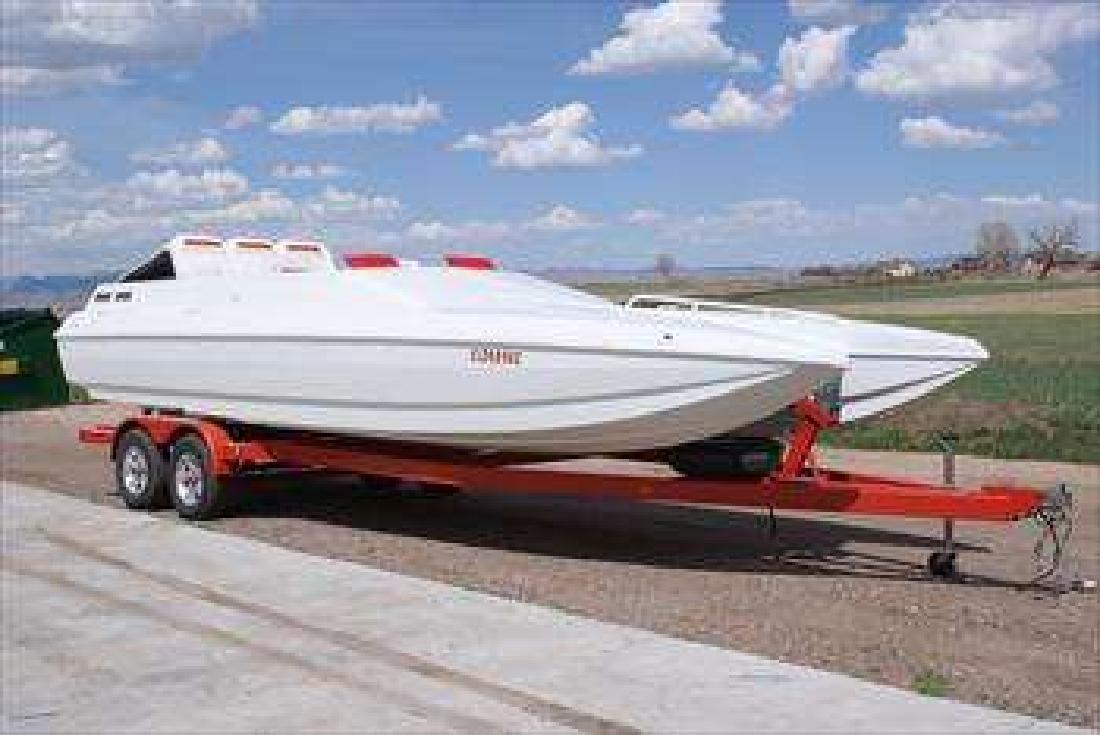 1999 26' American Offshore 26' Catamaran