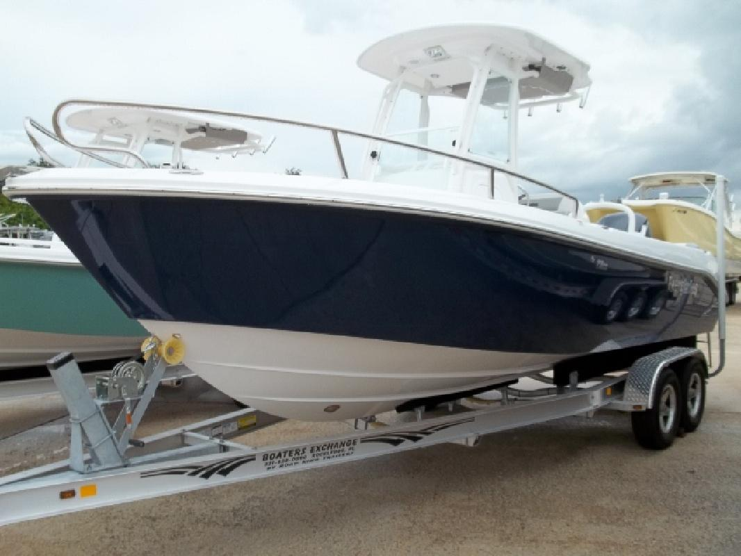 2012 23' Everglades Boats Offshore Boat 230CC