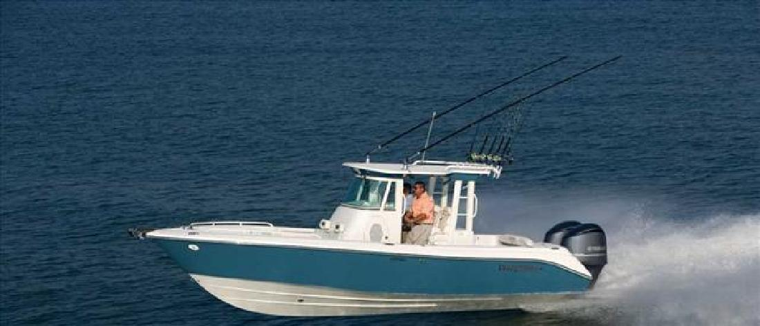 2012 29' Everglades Boats Offshore Boat 290 Pilot