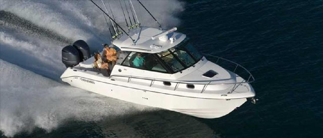 2012 32' Everglades Boats Offshore Boat 320 Express