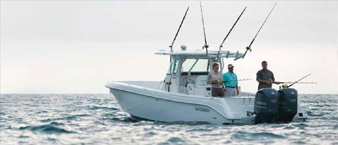 2012 35' Everglades Boats Offshore Boat 350CC