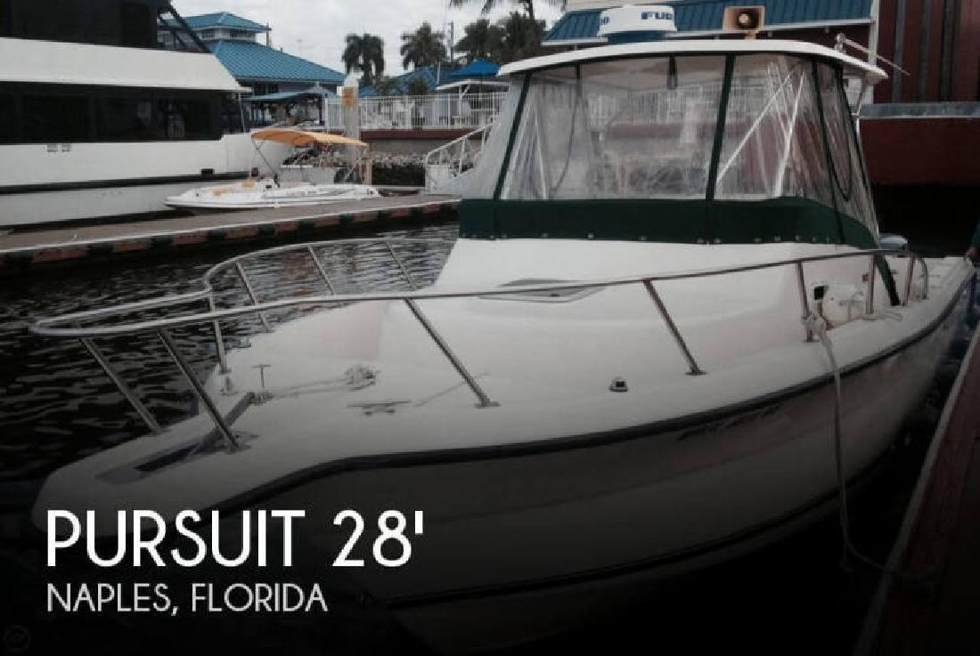 1997 Pursuit 2870 offshore Naples FL