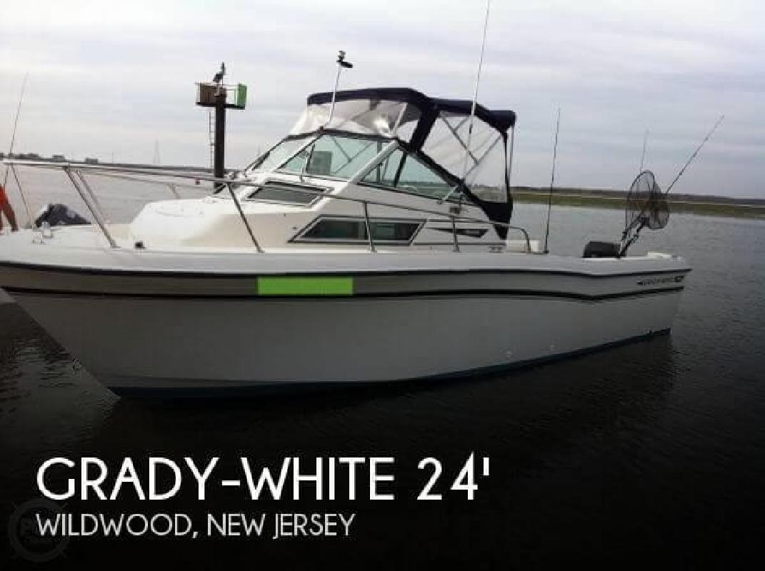 1989 Grady-White Boats 24 Offshore Wildwood NJ