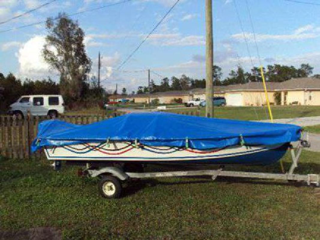$1,400 1984 14 foot Homemade on title fishing boat
