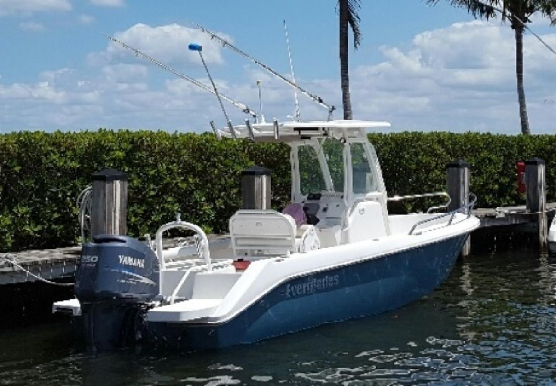 2009 Everglades Boats 210 CC Only 260 Hours Stuart FL