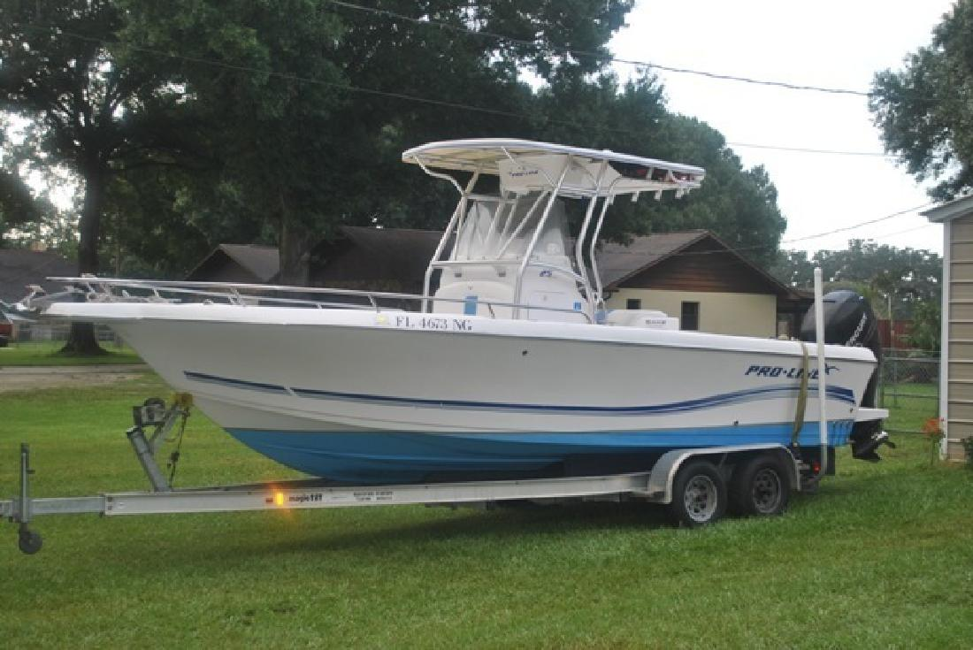 2006 Pro-Line Boats 25 Sport Only 380 Hours Tampa FL