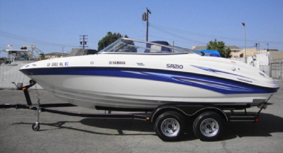 $25,900 2007 Yamaha SR210 twin engine open bow jet boat