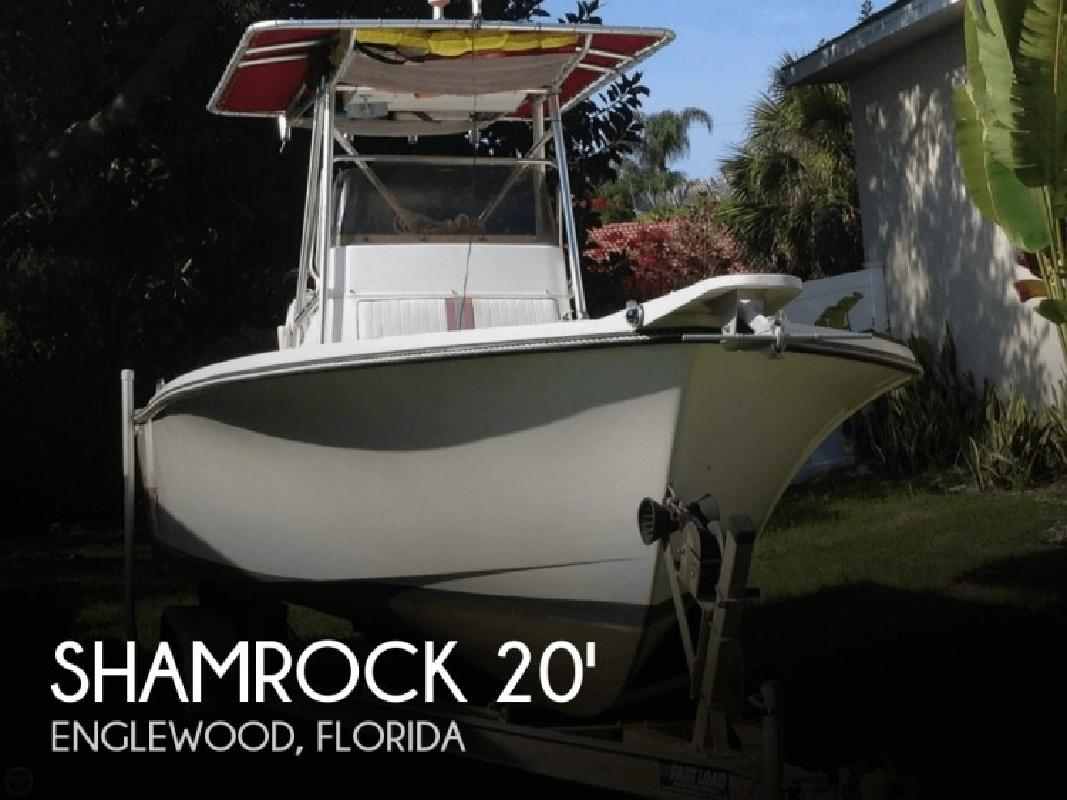 1996 shamrock marine 200 open fish englewood fl for sale for Fishing in englewood florida