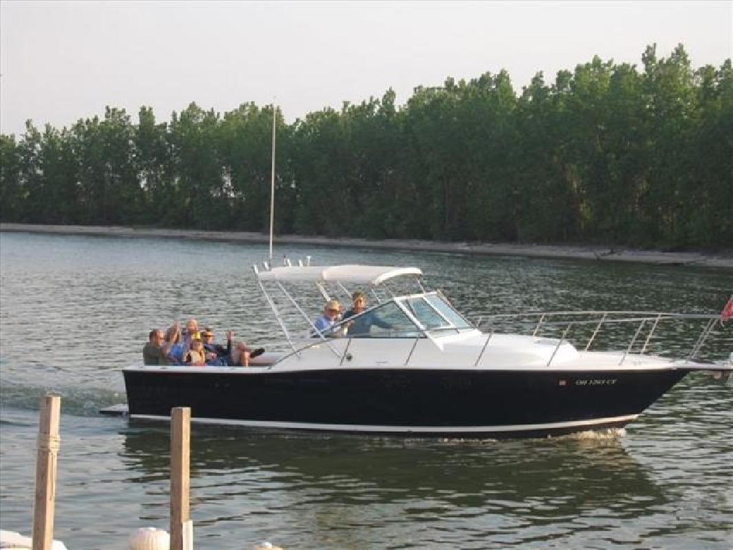 1990 27' Tiara Yachts Open Fisherman 2700 in Huron, Ohio