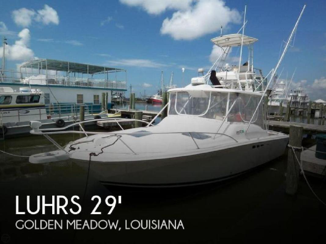 1993 Luhrs Boats Tournament 290 Open Golden Meadow LA