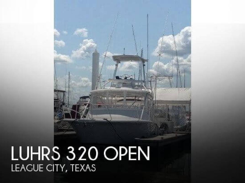 2001 Luhrs Boats 320 Open League City TX