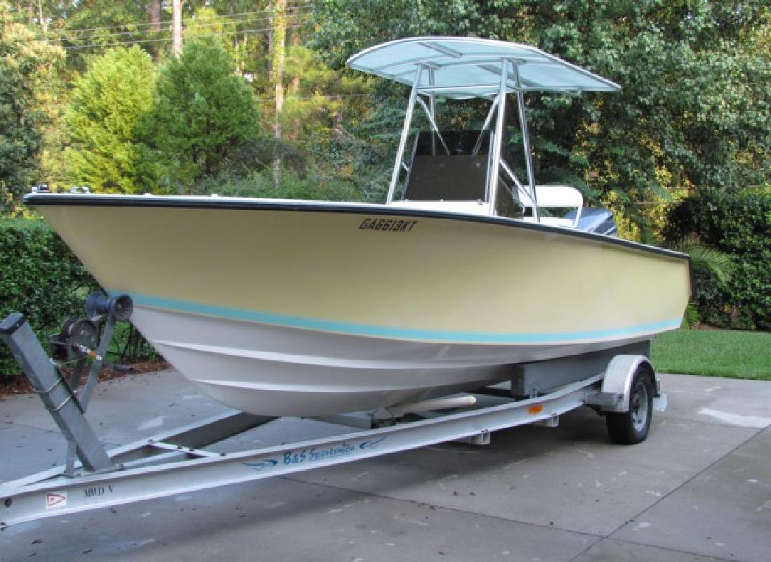 2002 21 39 contender 21 open only 175 hours for sale in for Yamaha outboards savannah ga