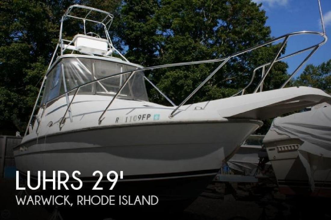 1988 Luhrs Boats 290 Open Tournement Warwick RI