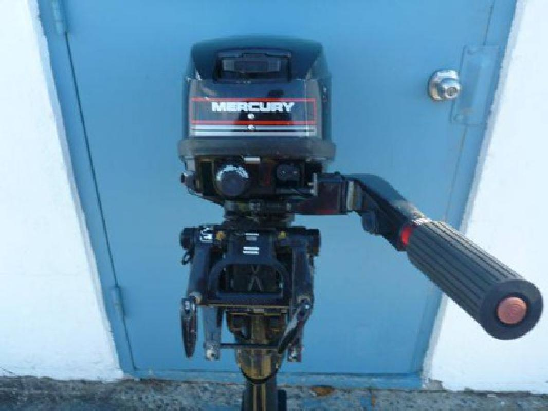 625 mercury 6hp 1995 long shaft outboard engine 6hp for Long shaft trolling motor for sale