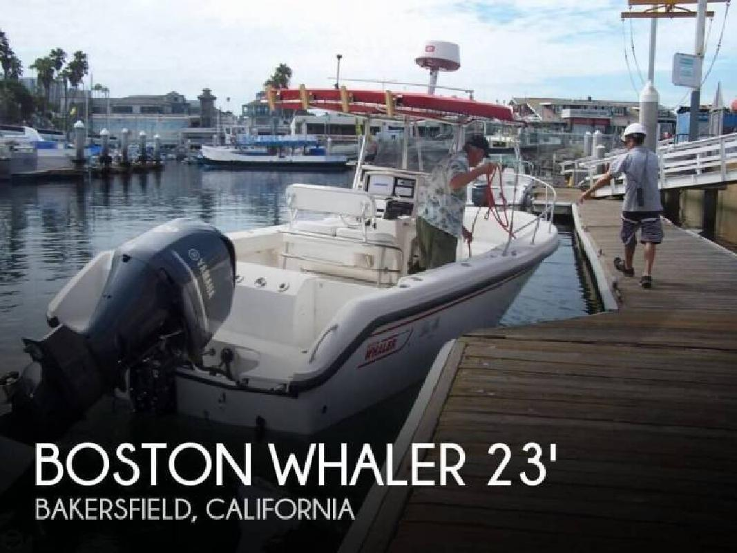 2002 Boston Whaler 230 Outrage Bakersfield CA for sale in