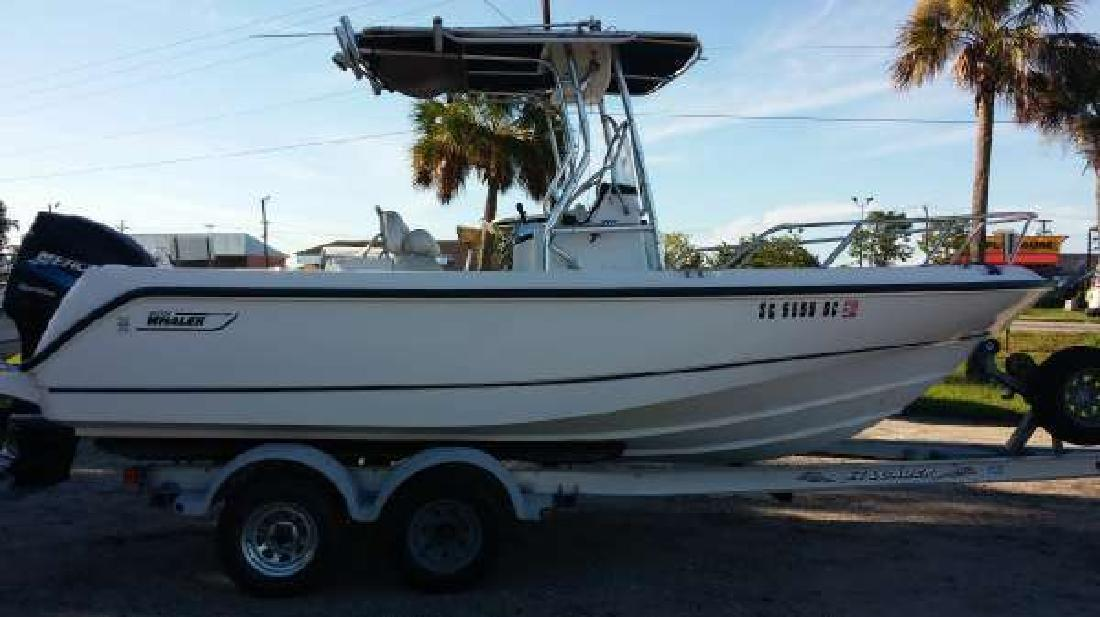 2002 BOSTON WHALER 210 OUTRAGE Beaufort SC