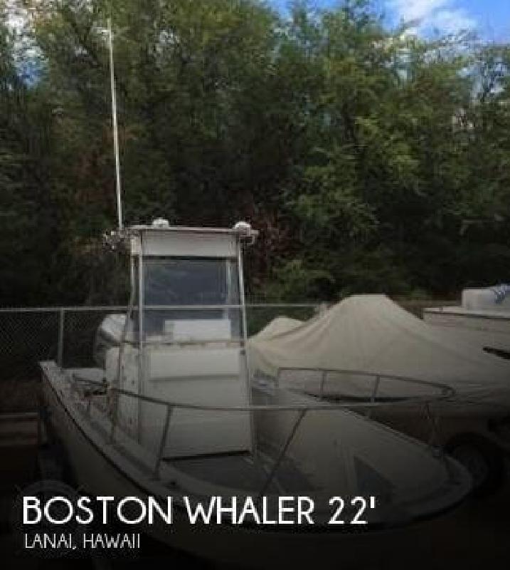 1983 Boston Whaler 22 Outrage Lanai HI