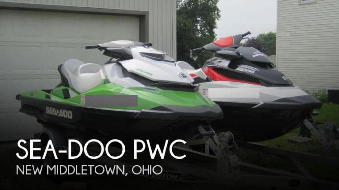2013 SeaDoo 2 PWC Pair New Middletown OH