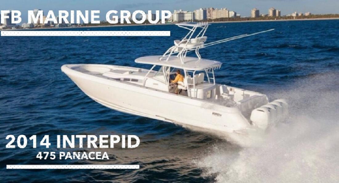 2014 Intrepid Powerboats 475 Panacea Pompano Beach FL