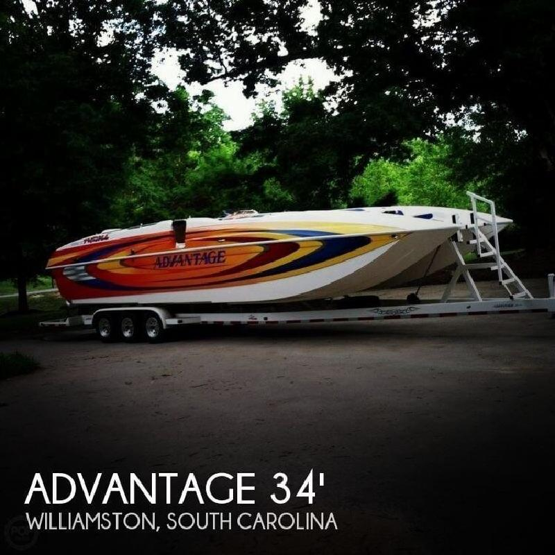 2006 Advantage Boats 34 Party Cat Williamston SC