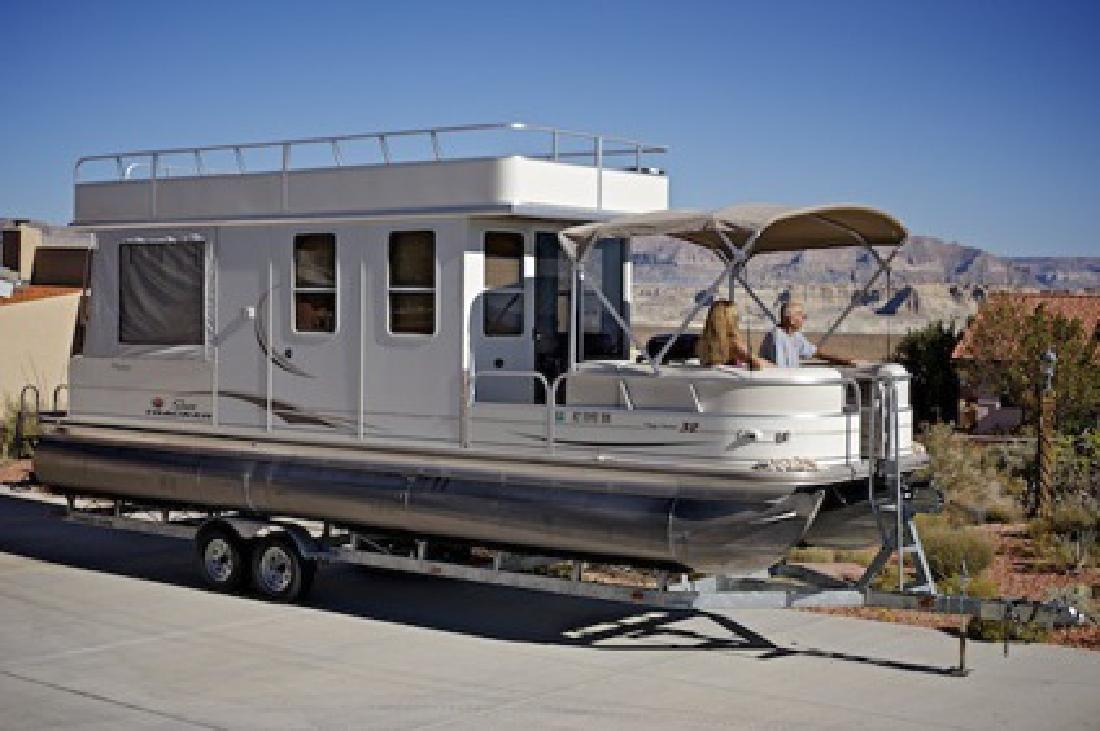 41 000 2007 Sun Tracker Party Cruiser 32 For Sale In Page