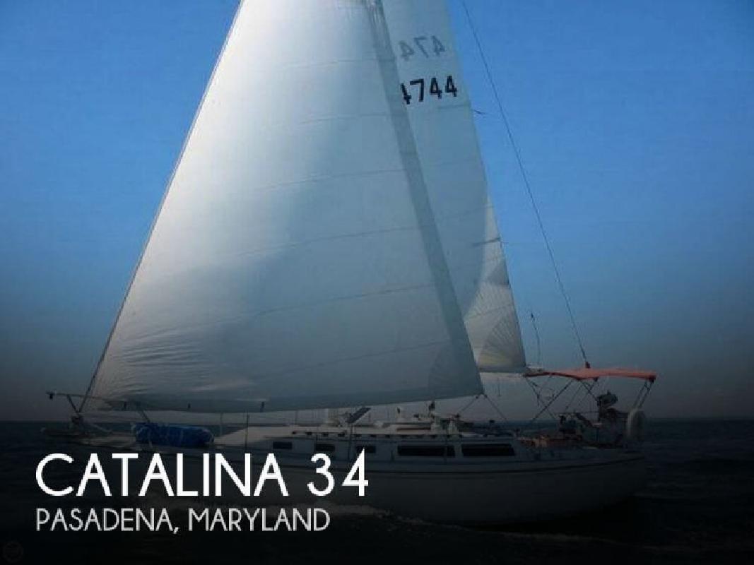 1987 Catalina 34 Pasadena MD