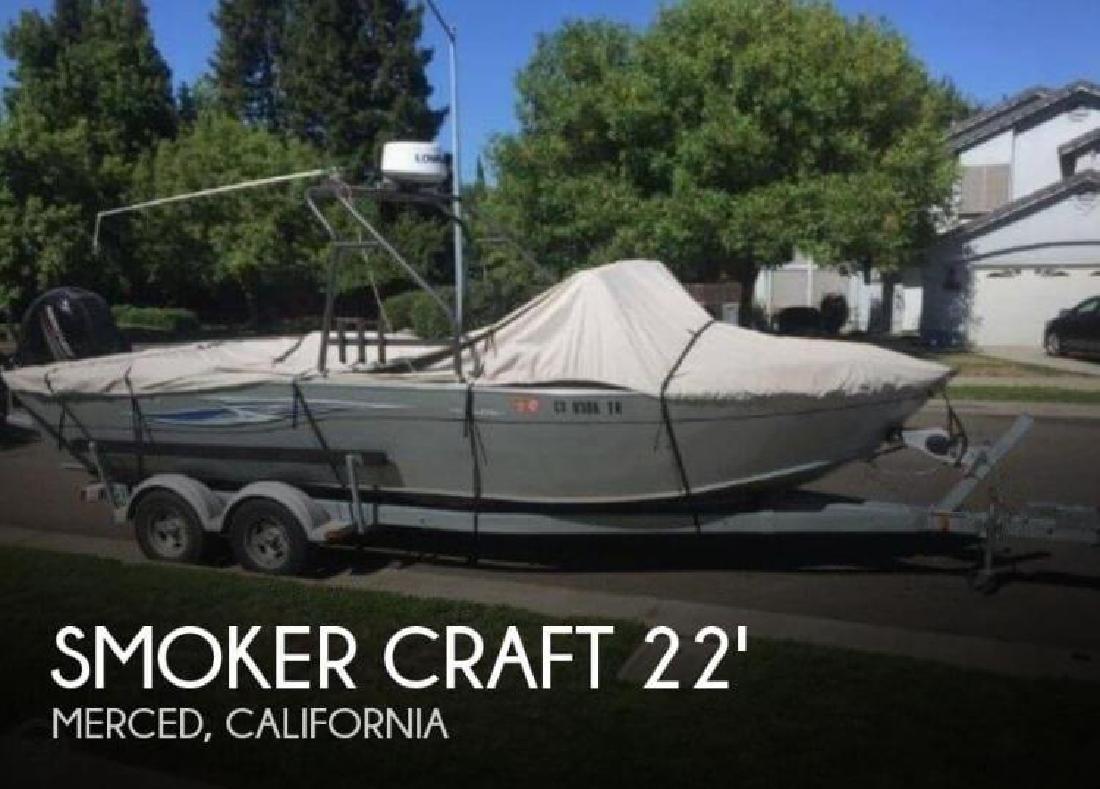 2013 Smoker-Craft Boats 202 Phantom Offshore Merced CA