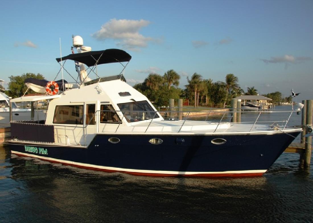 2006 39' Island Pilot Fast Trawler
