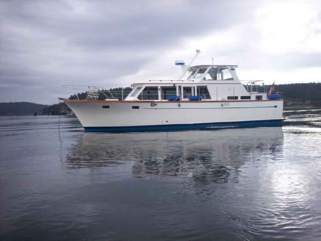 1976 41' Roughwater Pilot House Trawler